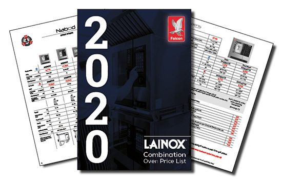 Lainox 2020 Price List